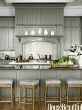 Incredible Farmhouse Gray Kitchen Cabinet Design Ideas22