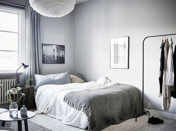 Awesome Modern Scandinavian Bedroom Design And Decor Ideas30