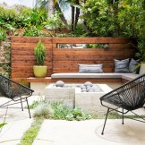 Perfect Diy Seating Incorporating Into Wall For Your Outdoor Space07