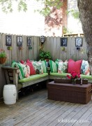 Perfect Diy Seating Incorporating Into Wall For Your Outdoor Space28