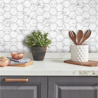 Popular Summer Kitchen Backsplash Ideas20