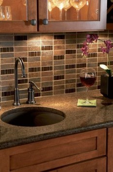 Popular Summer Kitchen Backsplash Ideas21
