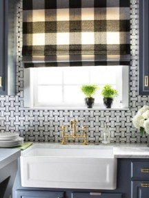 Popular Summer Kitchen Backsplash Ideas24