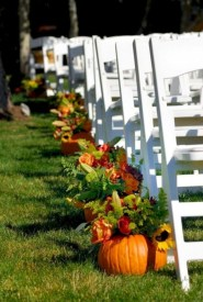 Unique Fall Wedding Decor On A Budget20