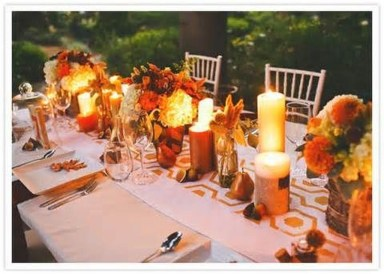 Unique Fall Wedding Decor On A Budget22