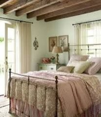 Amazing Farmhouse Style For Cozy Bedroom Decorating Ideas15