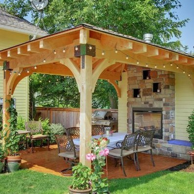Fascinating Backyard Patio Design And Decor Ideas18