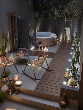 Fascinating Backyard Patio Design And Decor Ideas26