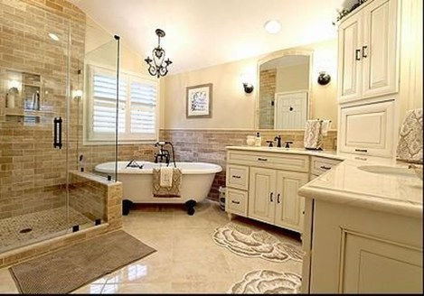 Inspiring Master Bathroom Decor And Design Ideas01