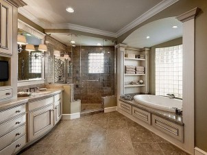 Inspiring Master Bathroom Decor And Design Ideas39