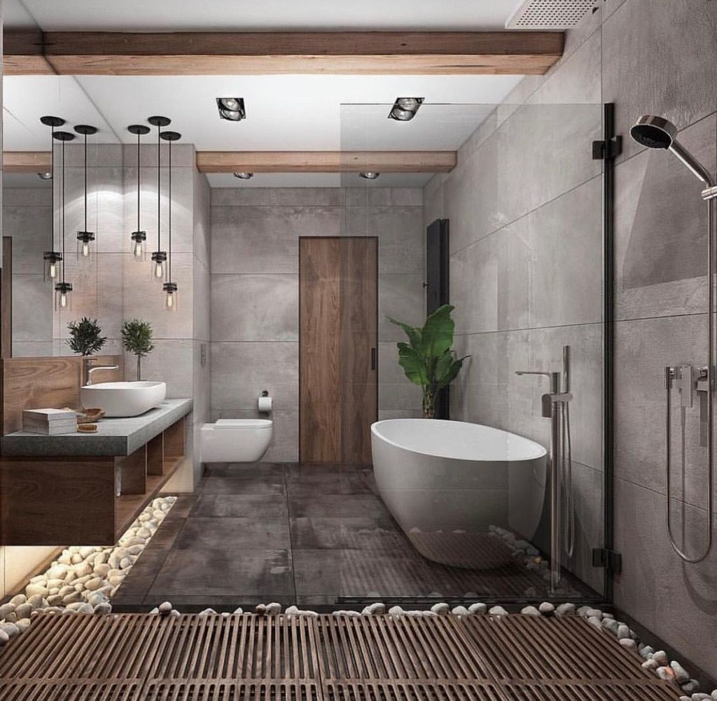 Inspiring Master Bathroom Decor And Design Ideas44
