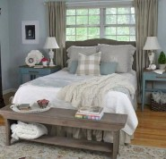Marvelous Farmhouse Bedroom For Your House Design Ideas11