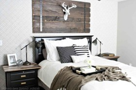 Marvelous Farmhouse Bedroom For Your House Design Ideas15