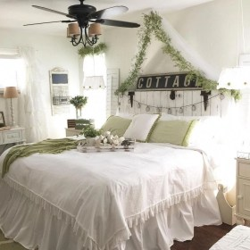 Marvelous Farmhouse Bedroom For Your House Design Ideas16