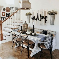 Perfect Farmhouse Dining Room Makeover Ideas17