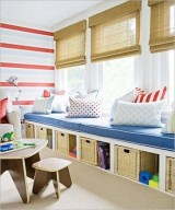 Stunning Window Seat Ideas With Padded Seat And Storage Below19