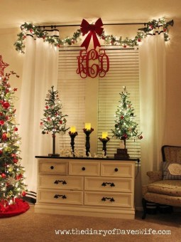 Adorable Christmas Decorations Apartment Ideas20