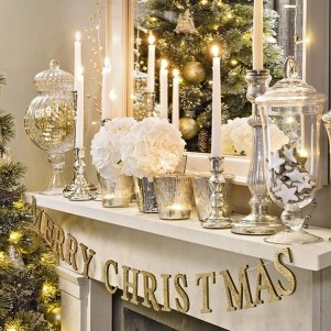 Awesome Vintage Christmas Living Room Decoration Ideas26