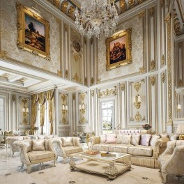Beautiful Living Room Design Ideas For Luxurious Home43