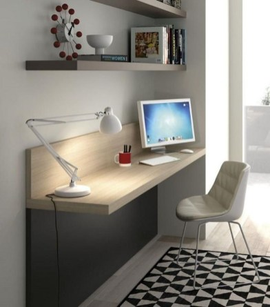 Comfy Home Office Design Ideas For Small Apartment03