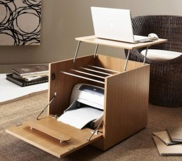 Comfy Home Office Design Ideas For Small Apartment10
