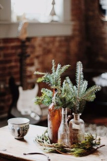 Cute Vintage Winter Table Decoration Ideas07