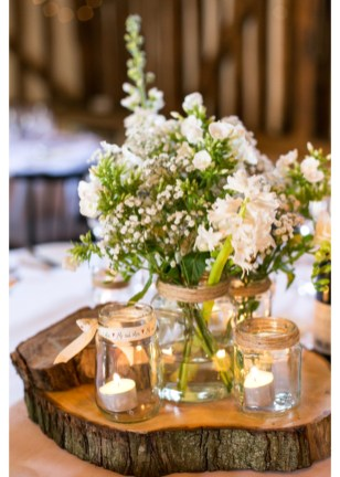 Cute Vintage Winter Table Decoration Ideas12
