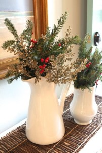 Cute Vintage Winter Table Decoration Ideas31
