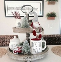 Cute Vintage Winter Table Decoration Ideas34