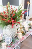 Cute Vintage Winter Table Decoration Ideas37
