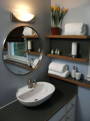 Easy Ideas For Functional Decoration Of Small Bathroom12