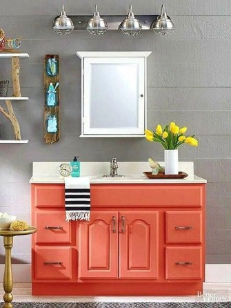 Easy Ideas For Functional Decoration Of Small Bathroom41