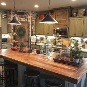 Flawless French Country Style Kitchen Decor Ideas09