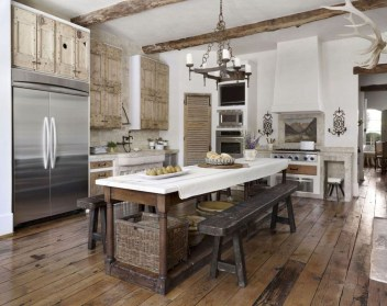 Flawless French Country Style Kitchen Decor Ideas10