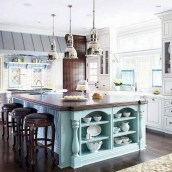 Flawless French Country Style Kitchen Decor Ideas14