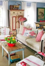 Impressive Bohemian Farmhouse Decorating Ideas For Your Living Room44