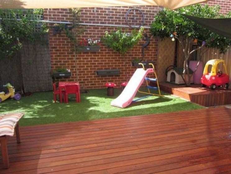 Incredible Backyard Playground Kids Design Ideas09