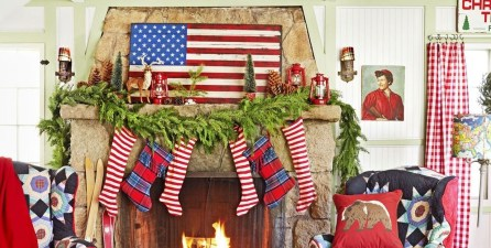 Incredible Christmas Mantel Decorating Ideas Budget11