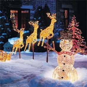 Vintage Outdoor Winter Lights Decoration Ideas27
