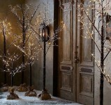 Vintage Outdoor Winter Lights Decoration Ideas30