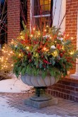 Vintage Outdoor Winter Lights Decoration Ideas37