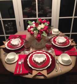 Creative Valentine Table Decoration Ideas15