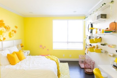 Perfect Yellow Bedroom Decoration And Design Ideas10