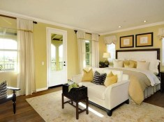 Perfect Yellow Bedroom Decoration And Design Ideas15