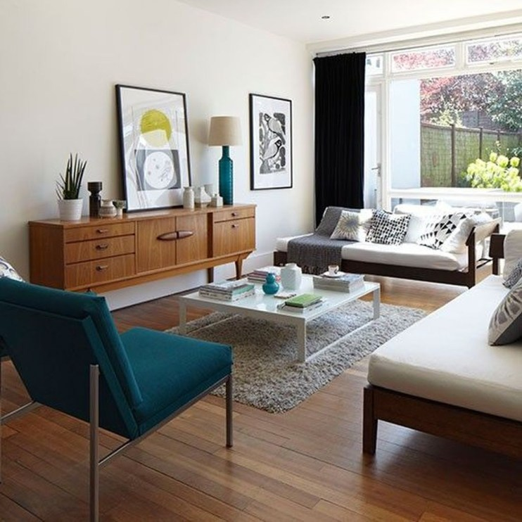 Relaxing Mid Century Modern Living Room Decor Ideas16