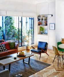 Relaxing Mid Century Modern Living Room Decor Ideas40