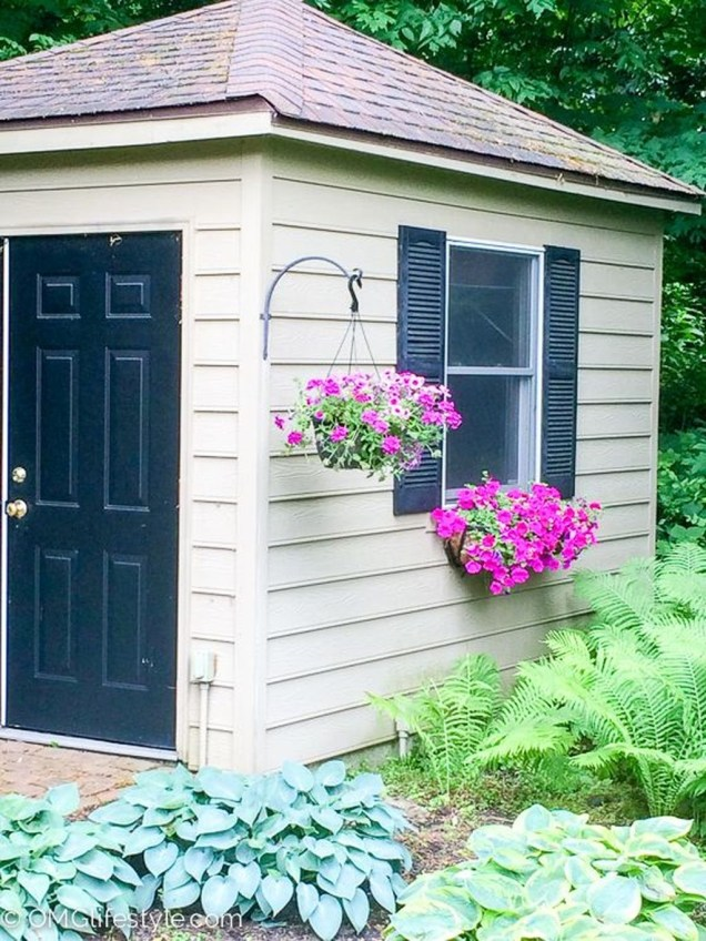 Awesome Shed Garden Plants Ideas37