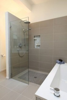 Incredible Curbless Shower Ideas For House23