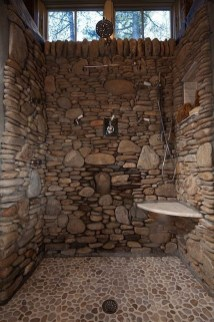 Incredible Curbless Shower Ideas For House25