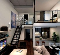 Unique Loft Bedroom Design Ideas31